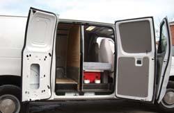 Big Comfort in a Cargo Van - Trucking News ...