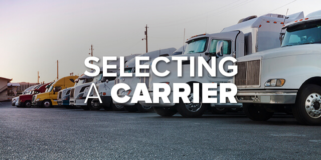 The Owner-Operator's Guide to Selecting a Carrier