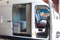 Living Large In A Van Cargo Van Sleepers Trucking News