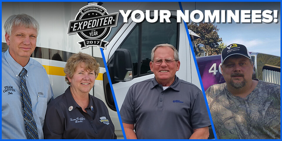 Expediter of the Year Finalists