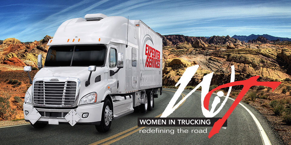 Expediter Services and Women in Trucking