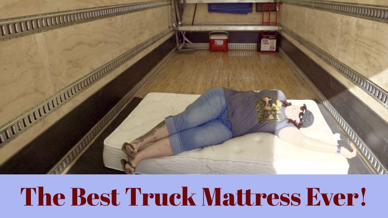 THE BEST TRUCK MATTRESS EVER! | SleepDog Truck Mattress ...