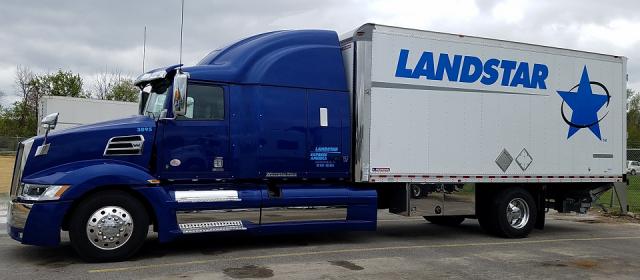 Greg Huggins-leased to Landstar Express America