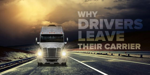 Why Drivers Leave Their Carrier