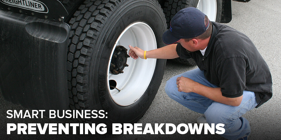 Preventing breakdowns